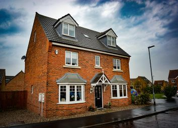 Thumbnail 6 bed detached house for sale in Leafield Close, Chester Le Street