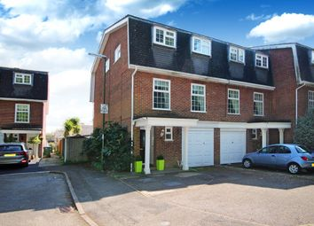 Thumbnail 4 bedroom end terrace house for sale in Lintott Gardens, Horsham