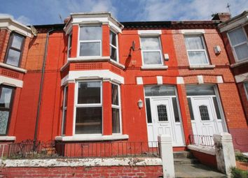 Thumbnail 4 bed terraced house for sale in Russell Road, Mossley Hill, Liverpool