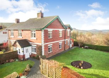 Thumbnail 3 bed semi-detached house for sale in Middletown, Welshpool, Powys