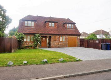 Thumbnail 3 bed detached house for sale in Vernon Close, Sevenoaks