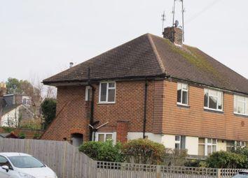 Thumbnail 2 bedroom maisonette to rent in Spencers Road, Horsham
