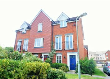 Thumbnail 3 bed end terrace house for sale in Angus Drive, Kennington, Ashford