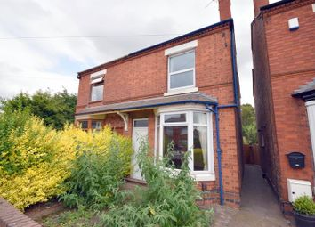 Thumbnail 2 bed semi-detached house for sale in Station Road, Kegworth, Derby