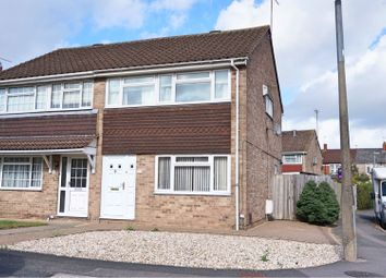 Thumbnail 3 bed semi-detached house for sale in Cameron Close, Swindon