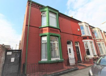 Thumbnail 4 bed end terrace house for sale in Chetwynd Street, Aigburth, Liverpool