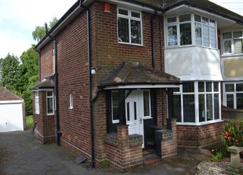 Thumbnail 3 bed semi-detached house to rent in Beresford Crescent, Newcastle-Under-Lyme