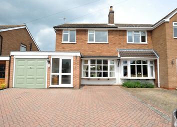 Thumbnail 3 bed semi-detached house for sale in Stanley Close, Netherseal, Swadlincote