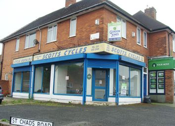 Thumbnail Retail premises for sale in New Road, Birmingham