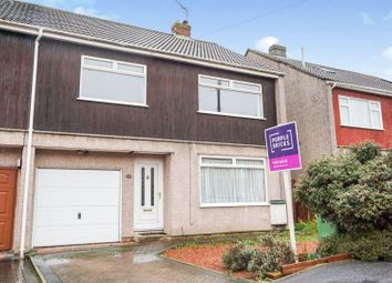 Thumbnail 4 bed semi-detached house for sale in Stanshaw Close, Frenchay