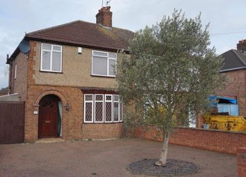Thumbnail 3 bedroom semi-detached house for sale in Whittlesey Road, Stanground, Peterborough