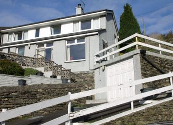 Thumbnail 3 bed detached house for sale in The Rise, Back O The Fell Road, Lindale, Grange-Over-Sands, Cumbria