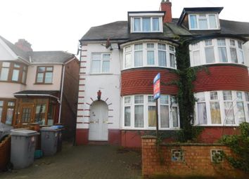 Thumbnail 2 bed flat for sale in Lancelot Avenue, Wembley, Middlesex