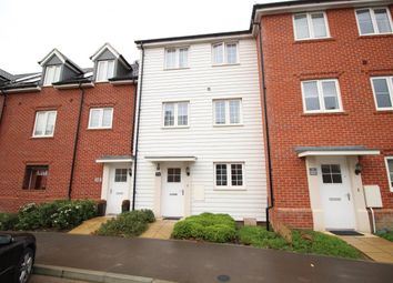 Thumbnail 4 bedroom town house to rent in Jubilee Drive, Fleet