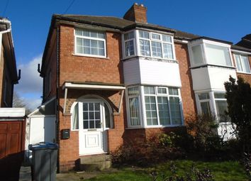 Thumbnail 3 bed semi-detached house to rent in Elmcroft Road, Yardley, Birmingham