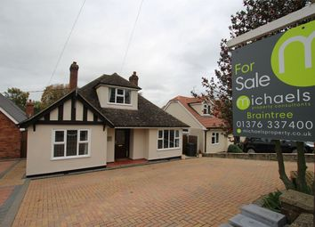 Thumbnail 4 bed detached bungalow for sale in Church Lane, Braintree, Essex