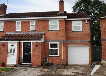 Thumbnail 3 bedroom semi-detached house for sale in Burton Fields Close, York