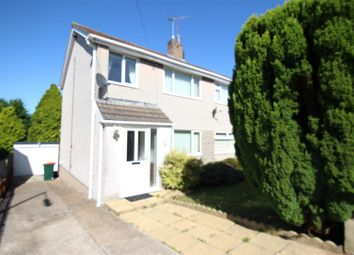 Thumbnail 3 bed semi-detached house to rent in Laurel Road, Bassaleg, Newport