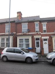 Thumbnail 3 bed terraced house for sale in Walbrook Road, Derby