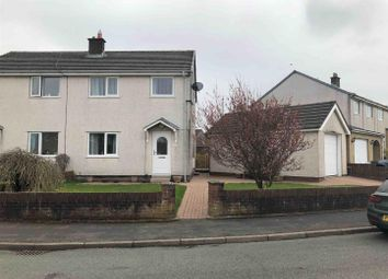Thumbnail 3 bed semi-detached house for sale in John Colligan Drive, Cleator Moor, Cumbria
