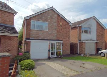 Thumbnail 3 bed detached house for sale in Foxcroft Close, Leicester