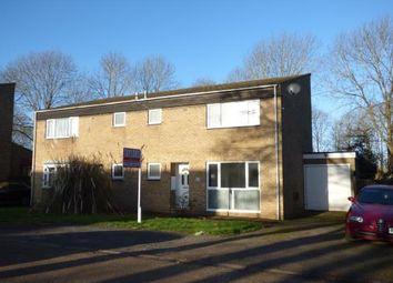 Thumbnail 3 bed semi-detached house for sale in Manshead Court, Stony Stratford, Milton Keynes, Bucks