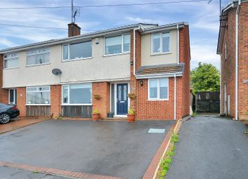 Thumbnail 4 bed semi-detached house for sale in Lindholme Way, Sutton-In-Ashfield