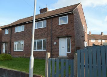 Thumbnail 3 bed semi-detached house to rent in Beech Street, South Elmsall, Pontefract