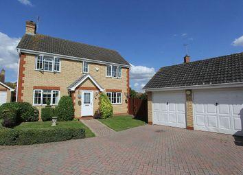 Thumbnail 4 bedroom detached house for sale in 45, Lidgate Close, Peterborough, Cambridgeshire