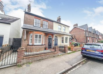 Thumbnail 4 bed semi-detached house for sale in Cowper Road, Harpenden