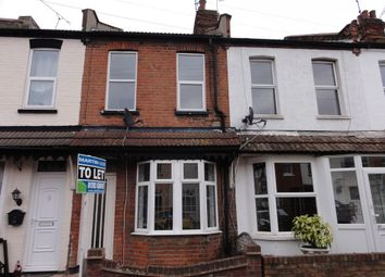 Thumbnail 2 bed terraced house to rent in Station Avenue, Southend-On-Sea