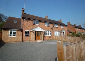 Thumbnail 5 bed semi-detached house to rent in Gaviots Close, Gerrards Cross