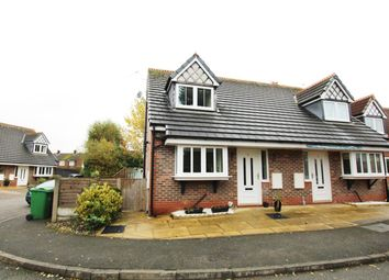 Thumbnail 2 bed semi-detached house for sale in Trent Close, Culcheth, Warrington