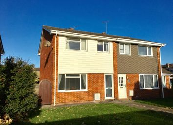 Thumbnail 3 bed semi-detached house for sale in Siskin Walk, Weston-Super-Mare