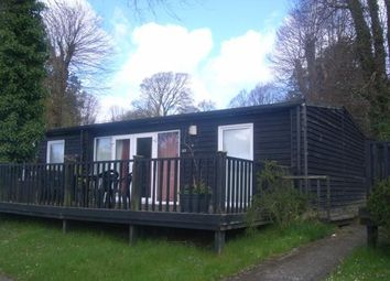 Thumbnail 2 bed bungalow for sale in Upper Lakeside, Glan Gwna Holiday Park, Caeathro, Caernarfon