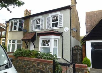 Thumbnail 2 bed semi-detached house to rent in St Johns Road, Westcliff On Sea, Essex