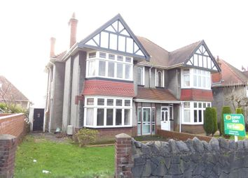 Thumbnail 4 bedroom semi-detached house for sale in Broadway, Sketty, Swansea