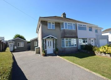 Thumbnail 4 bed semi-detached house for sale in Rockville Park, Plymstock, Plymouth, Devon