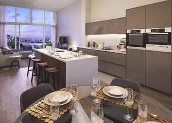 Thumbnail 2 bedroom flat for sale in Building 103, The Village Square, West Parkside, Greenwich, London