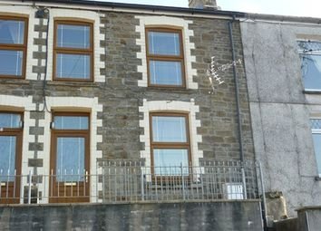 Thumbnail 2 bed terraced house to rent in Lower Church Street, Pontycymer, Bridgend