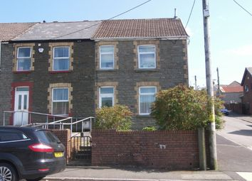 Thumbnail 3 bedroom end terrace house for sale in Church Road, Seven Sisters, Neath