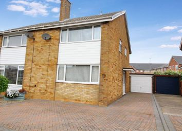 Thumbnail 3 bedroom semi-detached house for sale in Overdale, Eastfield, Scarborough