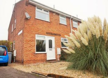 Thumbnail 1 bed semi-detached house to rent in Westbrook Drive, Rainworth, Mansfield