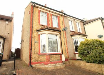 Thumbnail 4 bed semi-detached house for sale in Springhead Road, Northfleet, Gravesend
