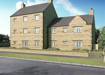 Thumbnail 2 bed flat for sale in St Georges Fields, Wootton, Northampton