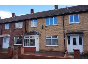 Thumbnail 3 bedroom terraced house for sale in North Road, Boldon Colliery