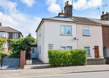 Thumbnail 2 bed end terrace house for sale in Bergholt Road, Colchester, Essex
