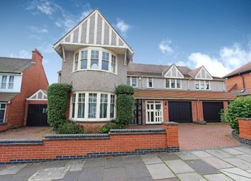 Thumbnail 5 bed detached house for sale in Letchworth Road, Leicester