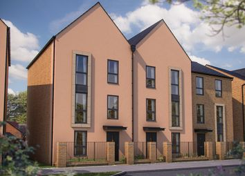 """Thumbnail 4 bedroom town house for sale in """"The Loughton"""" at Barrosa Way, Whitehouse, Milton Keynes"""