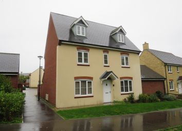 Thumbnail 5 bed detached house for sale in Fontmell Close, Swindon
